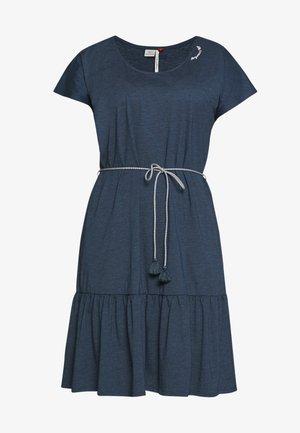 RIGATA PLUS - Žerzejové šaty - denim blue