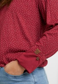 Ragwear Plus - PINCH LONG SLEEVE TEE - Topper langermet - wine red - 5