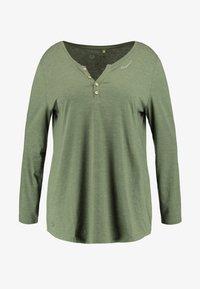 Ragwear Plus - LYVUSHA ORGANIC LONG SLEEVE TEE - Topper langermet - green - 5