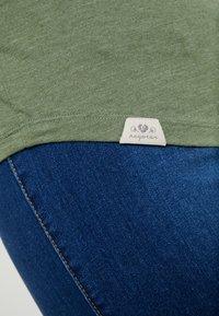 Ragwear Plus - LYVUSHA ORGANIC LONG SLEEVE TEE - Pitkähihainen paita - green - 6