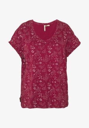 SERSEY ORGANIC - T-shirt med print - red