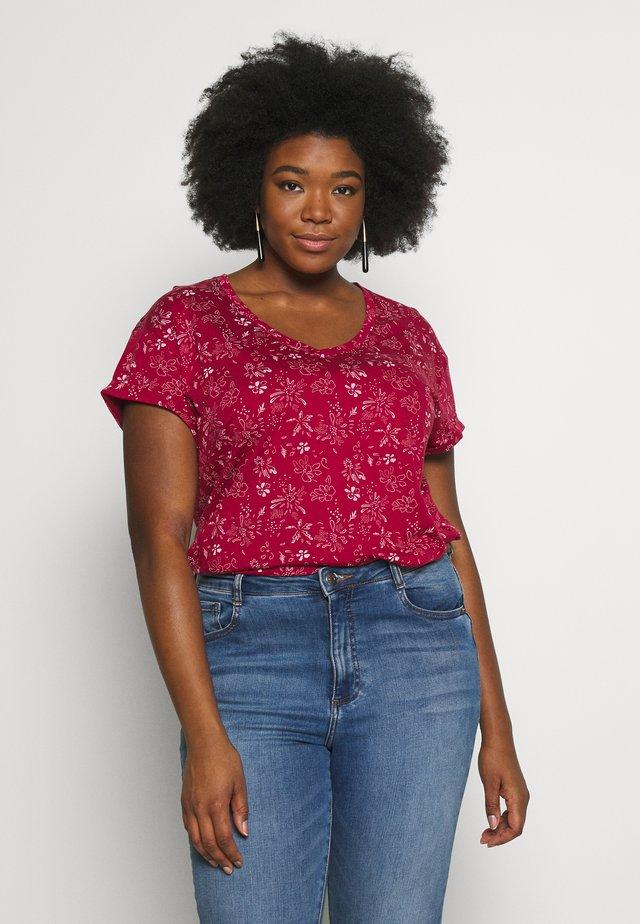 SERSEY ORGANIC - T-Shirt print - red