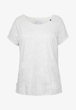 FLORAH  - T-shirt med print - white