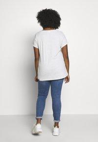 Ragwear Plus - FLORAH  - T-shirt imprimé - white - 2