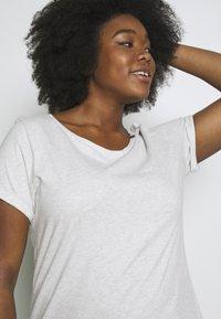 Ragwear Plus - FLORAH  - T-shirt imprimé - white - 3
