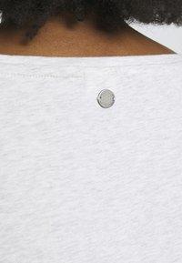 Ragwear Plus - FLORAH  - T-shirt imprimé - white - 5