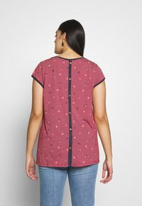 Ragwear Plus - DOMINICA - T-shirts med print - red - 2