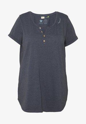 ORGANIC PLUS - T-shirts med print - navy