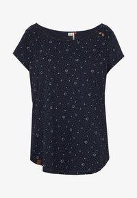 Ragwear Plus - ROSANNA PLUS - T-shirt med print - navy - 4