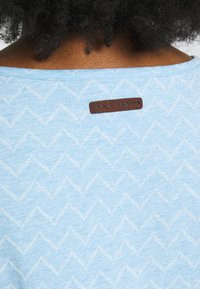 Ragwear Plus - ZIG ZAG PLUS - T-shirt imprimé - blue - 5