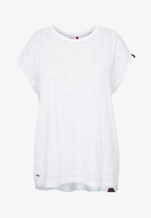 DIONE - T-shirt med print - white