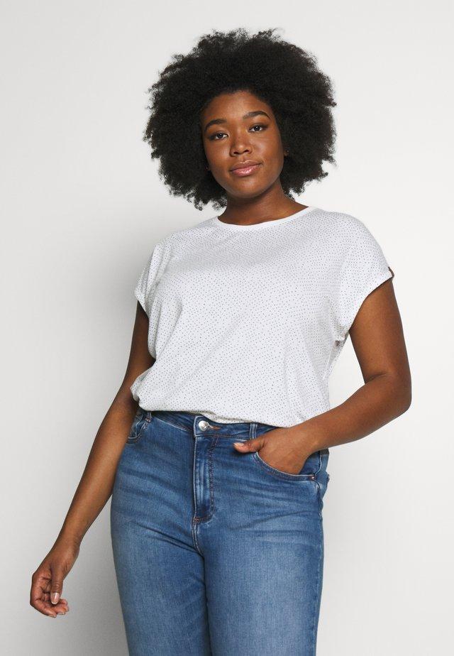 DIONE - Print T-shirt - white
