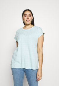 Ragwear Plus - DIONE - Print T-shirt - light mint - 0