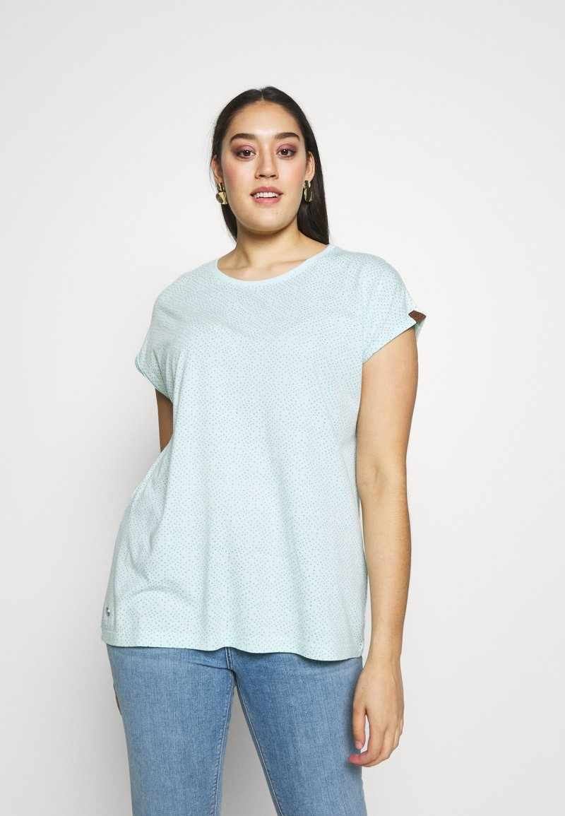 Ragwear Plus - DIONE - Print T-shirt - light mint