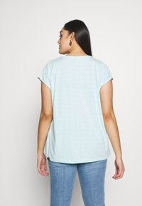 Ragwear Plus - DIONE - Print T-shirt - light mint - 2
