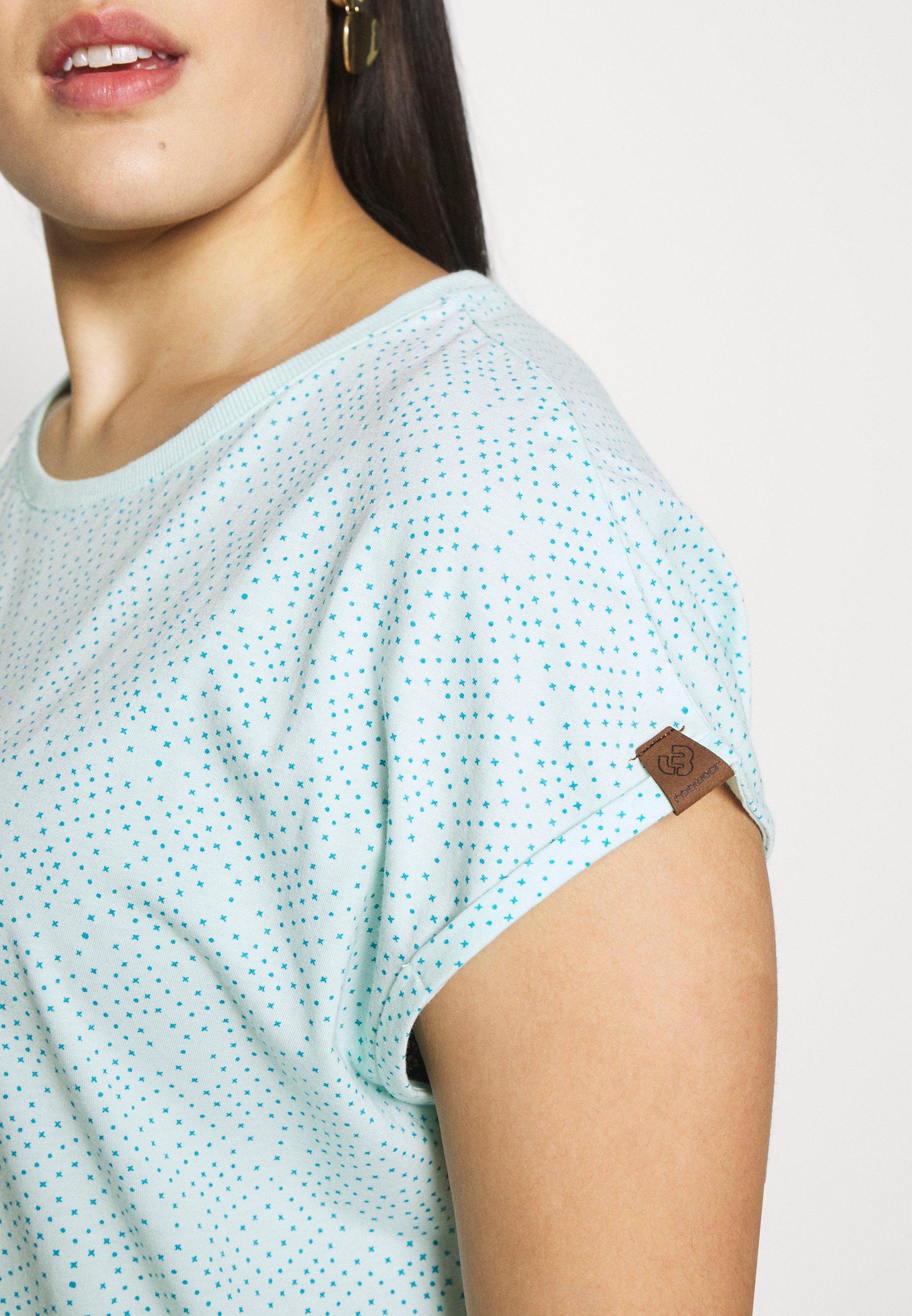 Ragwear Plus DIONE - T-shirts med print - light mint