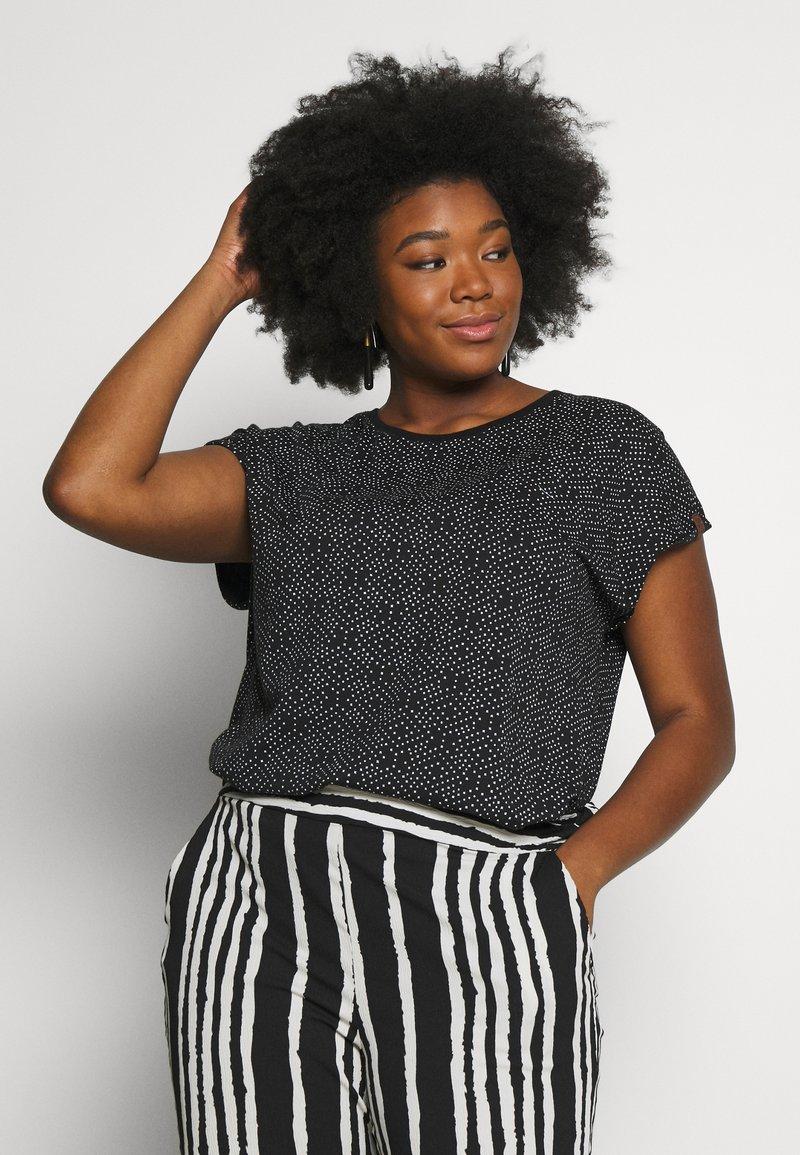 Ragwear Plus - DIONE - T-shirt imprimé - black