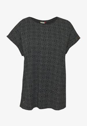 DIONE - T-shirt imprimé - black