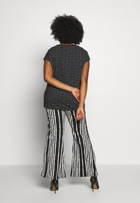 Ragwear Plus - DIONE - T-shirt imprimé - black - 2