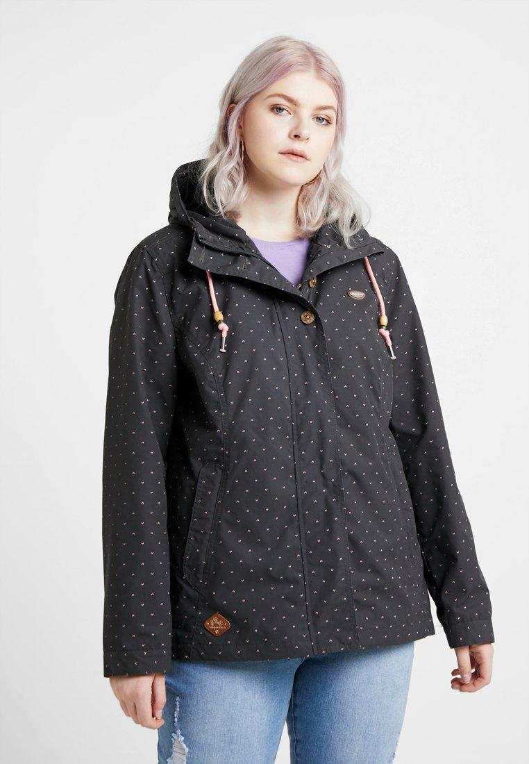 Ragwear Plus - EXCLUSIVE LYNX DOTS JACKET - Veste légère - dark grey