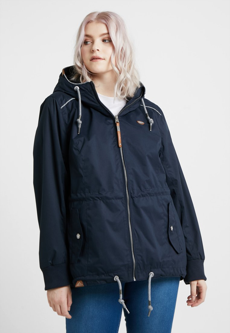 Ragwear Plus - EXCLUSIVE DANKA ZIP-UP JACKET - Parka - navy