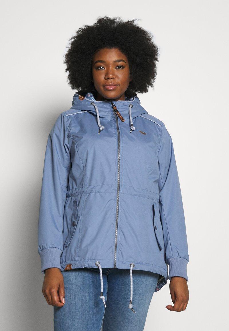 Ragwear Plus - DANKA PLUS - Summer jacket - lavender