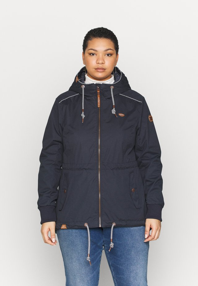 DANKA PLUS - Summer jacket - navy