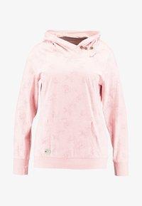 Ragwear Plus - EXCLUSIVE SASHA HOODED SWEATSHRT - Long sleeved top - light red - 3