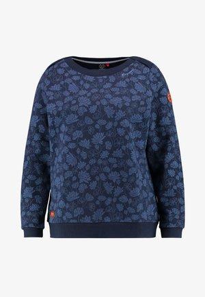 TASHI CREW - Sweatshirt - navy