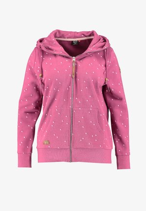 CHELSEA HEARTS ZIP THROUGH HOODIE - Hettejakke - rose
