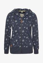 YODA ZIP - Zip-up hoodie - navy