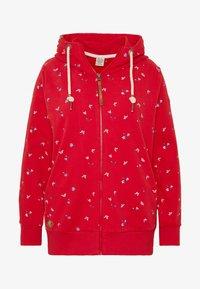 Ragwear Plus - Zip-up hoodie - red - 4