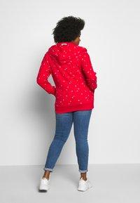 Ragwear Plus - Zip-up hoodie - red - 2