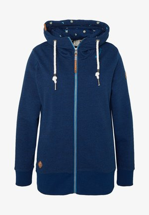 YODA ZIP PLUS - veste en sweat zippée - navy