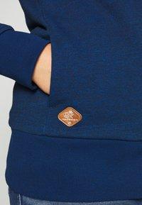 Ragwear Plus - YODA ZIP PLUS - Mikina na zip - navy - 5