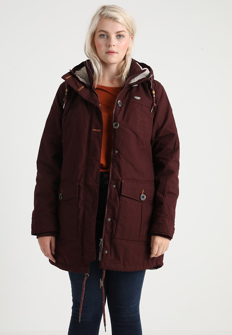 Ragwear Plus - JANE - Parka - dark choco