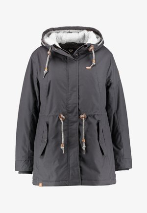 MONADIS COAT - Winter coat - dark grey