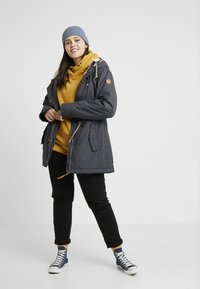 Ragwear Plus - MONADIS COAT - Veste d'hiver - dark grey - 1