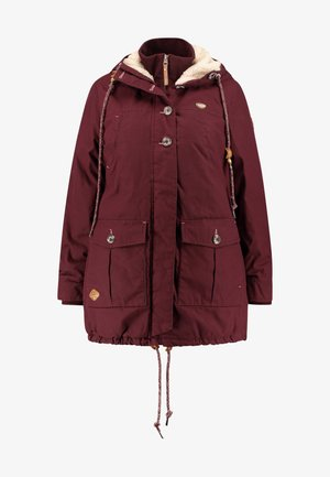 JANE COAT - Parkatakki - wine red