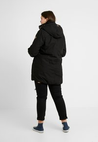 Ragwear Plus - JANE COAT - Parka - black - 2