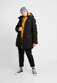 Ragwear Plus - JANE COAT - Parka - black - 1