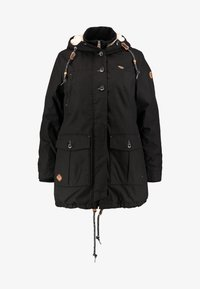 Ragwear Plus - JANE COAT - Parka - black - 4