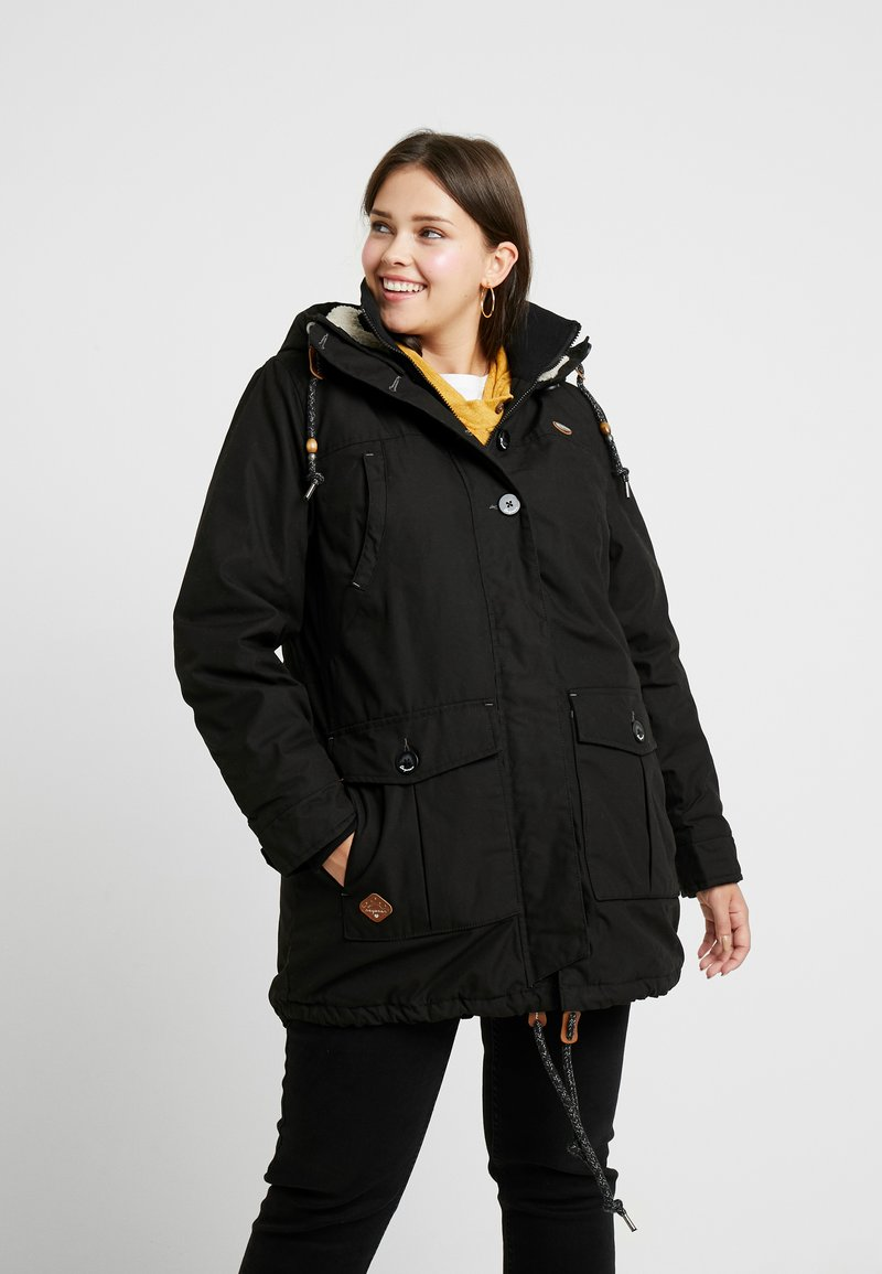 Ragwear Plus - JANE COAT - Parka - black
