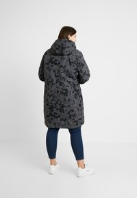 Ragwear Plus - TAWNY CAMO COAT - Parkas - dark grey - 2