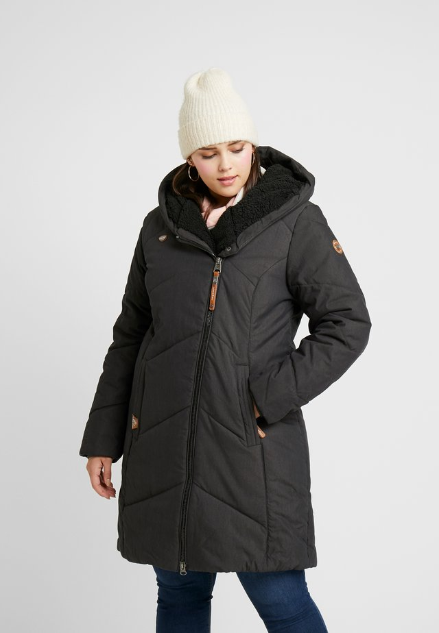GORDON - Classic coat - black