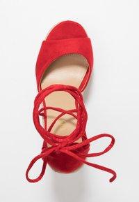 RAID - MAREA - Sandales à talons hauts - red - 3