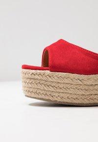 RAID - MAREA - Sandales à talons hauts - red - 2