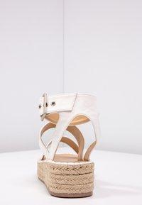 RAID - BELLINI - Platform sandals - white - 5