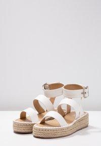RAID - BELLINI - Platform sandals - white - 4