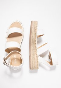 RAID - BELLINI - Platform sandals - white - 3